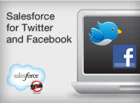 Salesforce for Twitter and Facebook